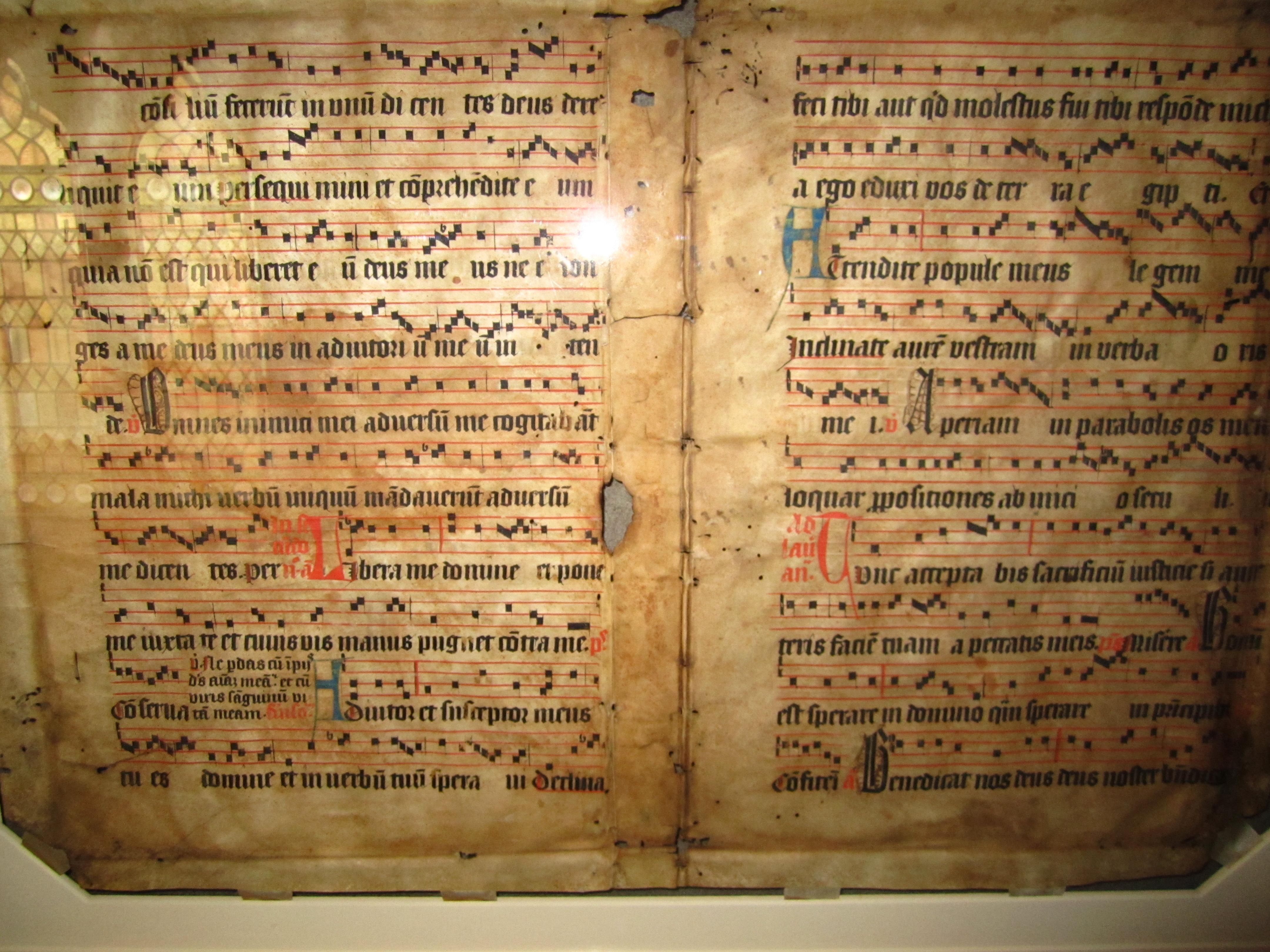 gregorian chant notes