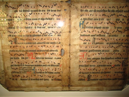 gregorian chant notes