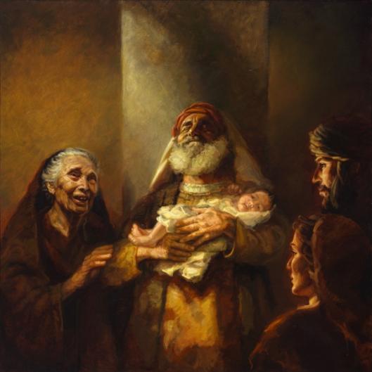 simeon and Anna with Child Jesus