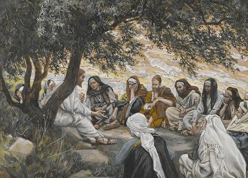 The Lord Jesus Christ exhortation apostles tissot