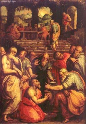 Prophet Elisha and Naaman the Assyrian leper